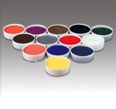 Halloween Clown Make Up (Mehron Color Cup Foundation Creme Clown Makeup,Halloween _Pick)