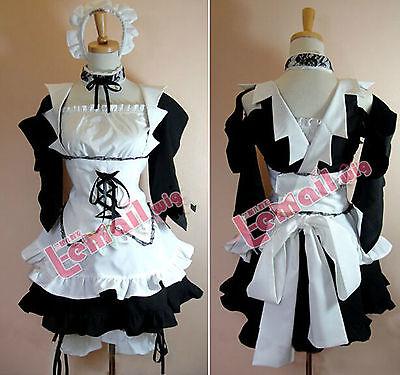 Kaichou Wa Maid-Sama Anime Ayuzawa Misaki Maid Cosplay Costume Dress Hearwear (Maid Sama Kostüm)