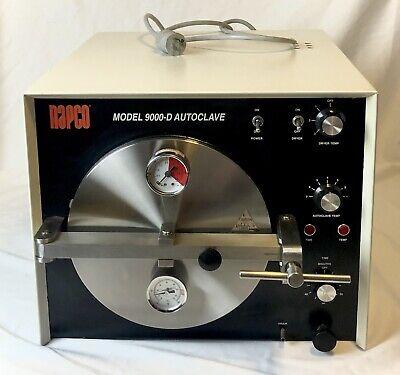 Napco Model 9000-d Autoclave Sterilizer - Dental Medical Lab - Working