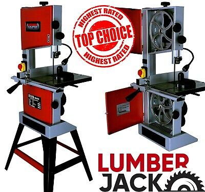 Lumberjack 10 Professional Bandsaw Cast Table Solid Fence Stand Blade 240v