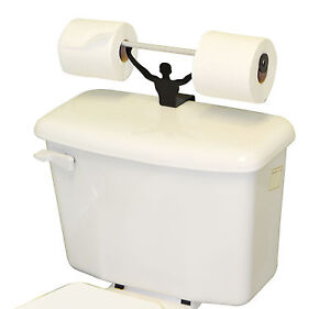 Strong Man Funny Bathroom Toilet Paper Tissue Roll Holder