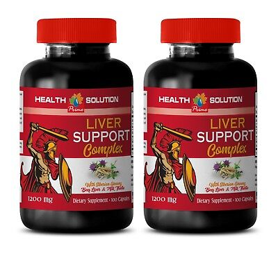 immune support daily vitamin - LIVER SUPPORT COMPLEX 1200MG 2B- milk thistle sil