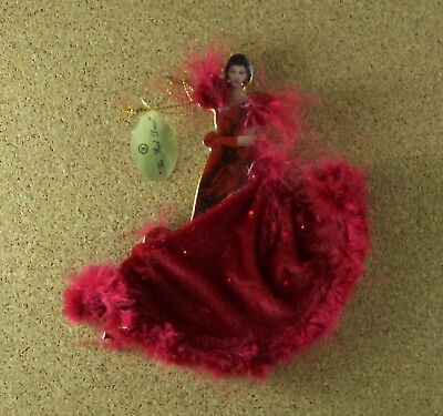 Gone With Wind Costumes (Gone With the Wind Legendary Costumes Scarlett THE RED DRESS Ornament)