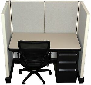 Herman Miller AO2 2'x4' Call Center Cubicles