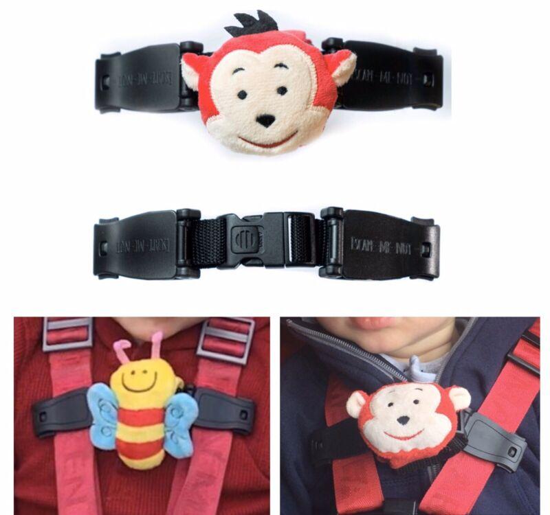Anti Escape Chest Clip Car Seat Harness Strap Stop Your Escapee Monkey
