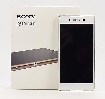 "USED - Sony XPERIA Z3+ Dual White E6533 32GB (FACTORY UNLOCKED) 20.7MP, 5.2"""