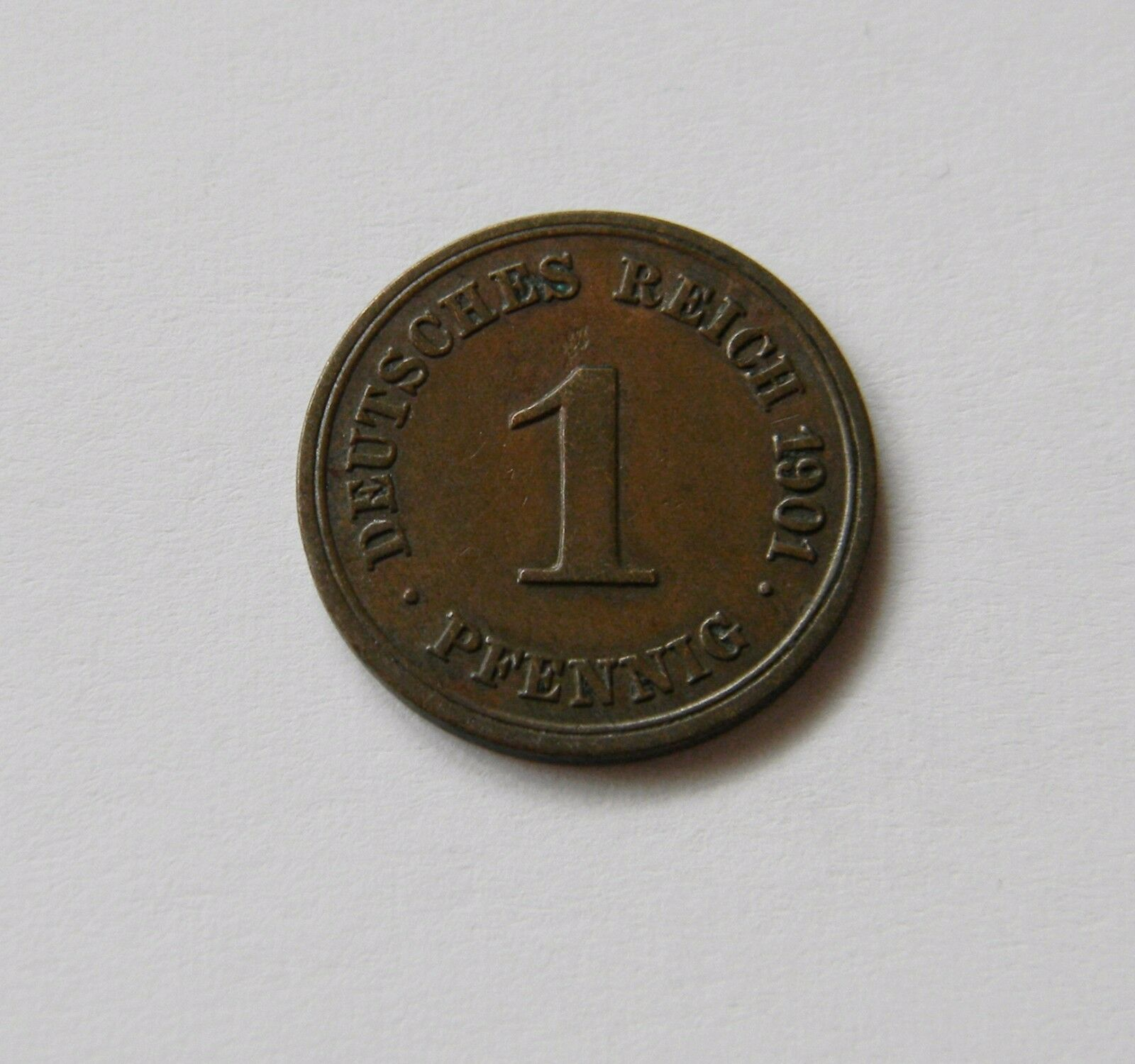 KAISERREICH: 1 Pfennig 1891 - 1916, J. 10, sehr schön, AUSWAHL, nur BESSERE !!!