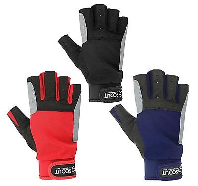 New Sailing Gloves Kayak Yachting Rope Dinghy Fishing Water Sports Boating Glove