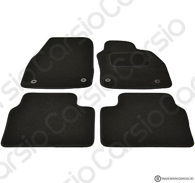 Car Parts - Vauxhall Astra H MK5 2004 - 2010 Tailored Black Car Floor Mats Carpets 4pc Set