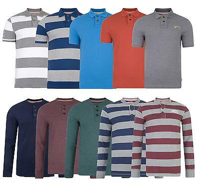 Tokyo Laundry New Men's Long & Short Sleeve Polo Shirts & Henley Jersey Tops
