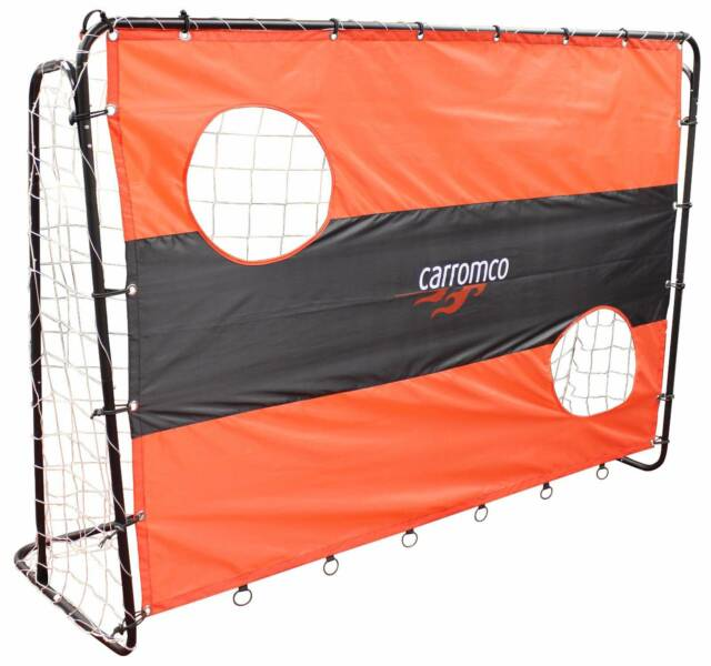 Carromco 2 In 1 Soccer Goal Shoot-out