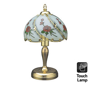 40cm vintage style table touch bedside lamp desktop. Black Bedroom Furniture Sets. Home Design Ideas
