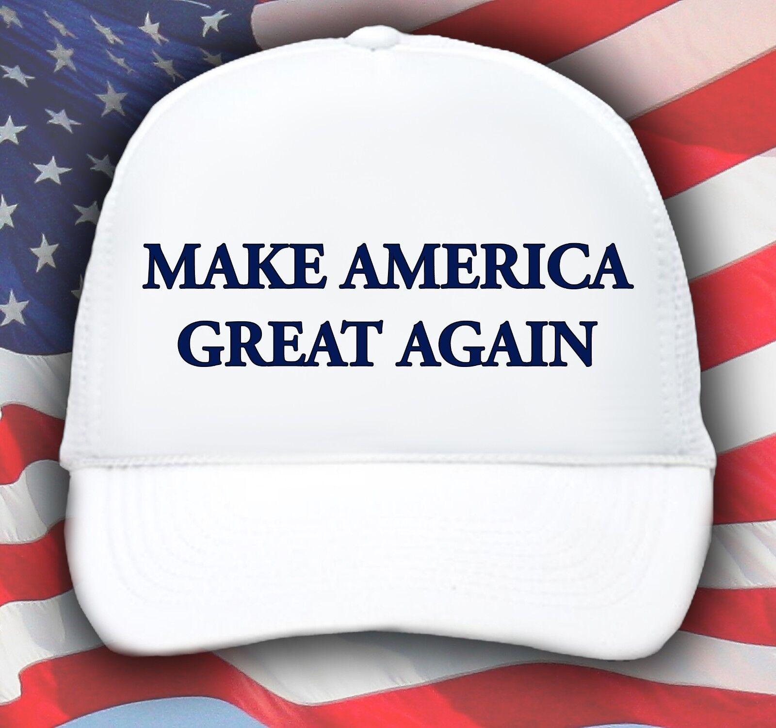 Make America Great Again Hat Donald Trump 2016 Republican Adjustable Mesh Cap