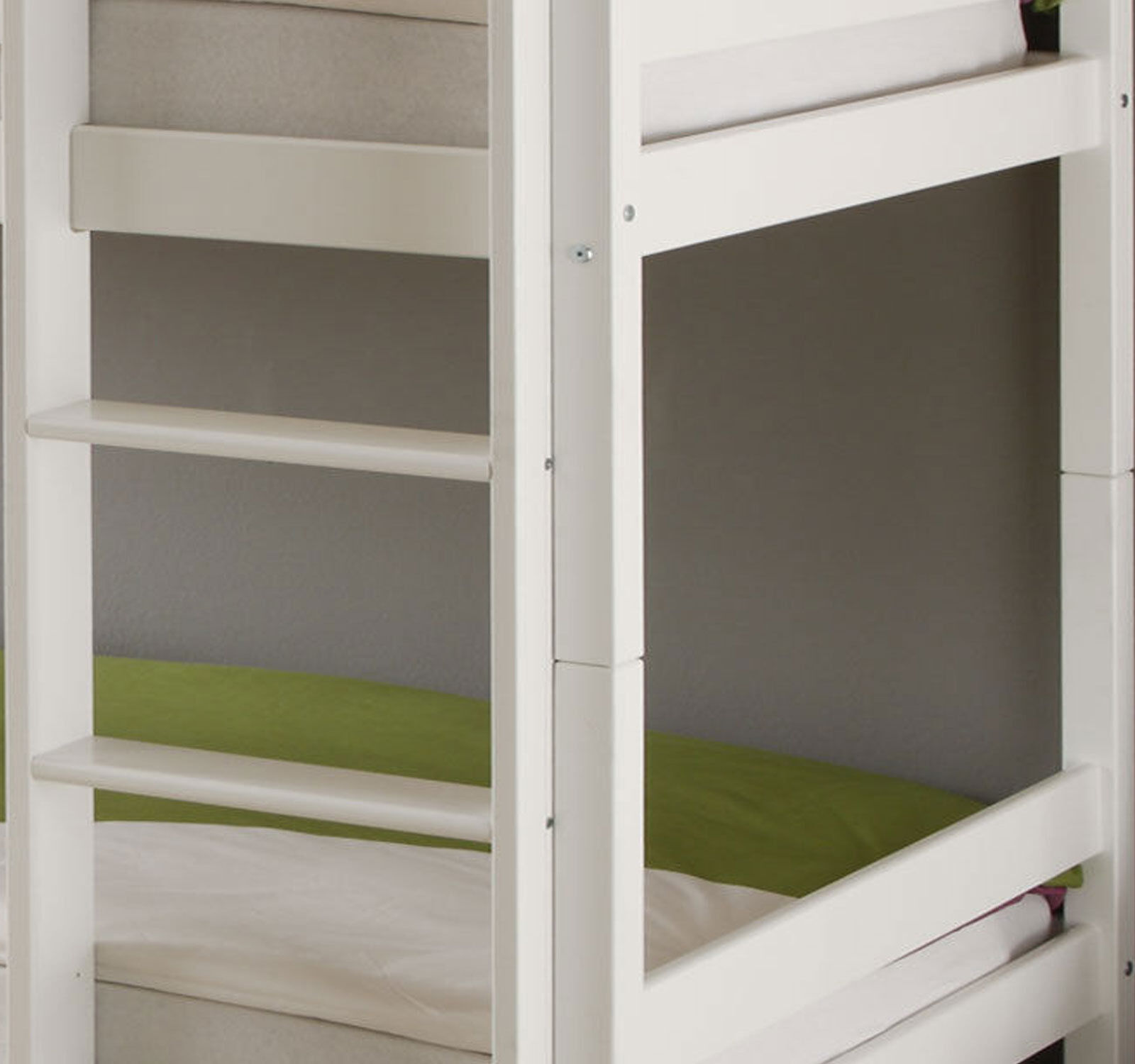 kinderbett etagenbett weiss hochbett spielbett massiv stockbett 90 x 200 cm bett eur 129 00. Black Bedroom Furniture Sets. Home Design Ideas