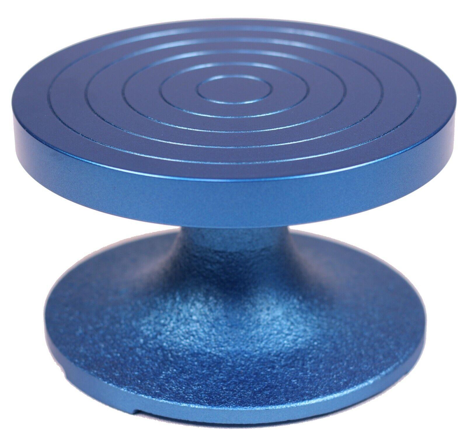 Creative Hobbies BW-18M Professional Sculpting Wheel 7″ Dia., Heavy Duty, Blue Ceramics & Pottery