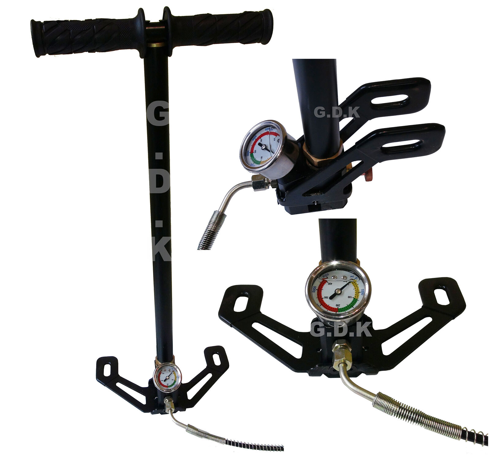 GDK PCP HAND PUMP, AIR RIFLE HAND PUMP, AIRRIFLE AIR,GAS, CHARGER, AIR FILTER,-,