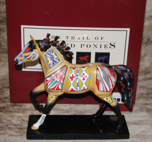 TRAIL OF PAINTED PONIES Cheyenne Painted Rawhide 1E/2141~Native Patterns~Retired