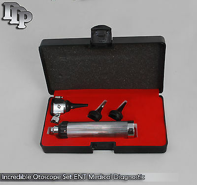 Otoscope   Ophthalmoscope Set Ent Medical Diagnostic Surgical Instruments Nt 529