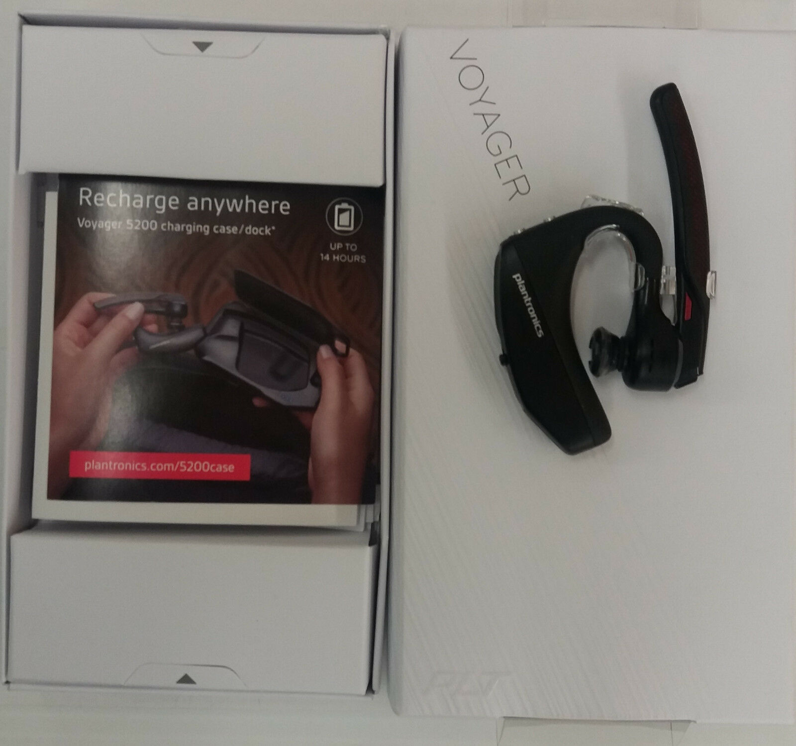 Details about *OEM Plantronics Voyager 5200 Bluetooth Headset Earpiece  WindSmart 203500-01