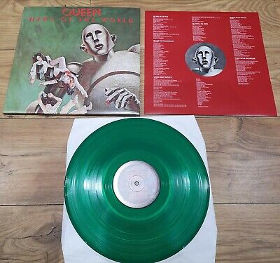 Queen - News Of The World 180G Green Trans Vinyl from New Studio Collection Box