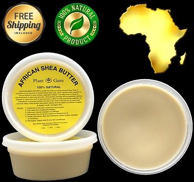 Raw African Shea Butter IVORY 8 oz Unrefined Pure Organic 100% Natural Ghana