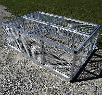 Small Rite Farm Products Lifetime Series Freestanding Chicken Run Coop Poultry