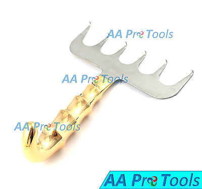 Yancoskie Abdominoplasty Retractor Hook 7 6 Prong Sharp Plastic Surgery Bst-015