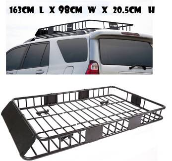 Universal Roof Rack Cargo Car Top Carrier Basket Traveling SUV Hoppers Crossing Wyndham Area Preview