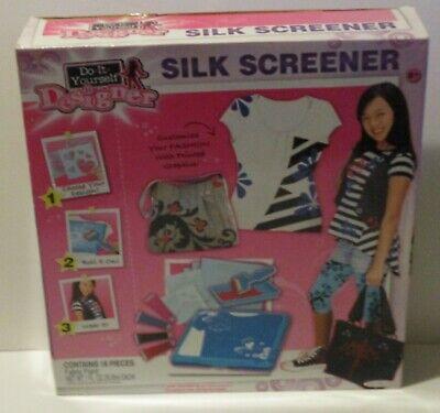 Jakks Pacific Silk-Screener Style-Six NonToxic Panting Screen Roll Brush 16 pcs
