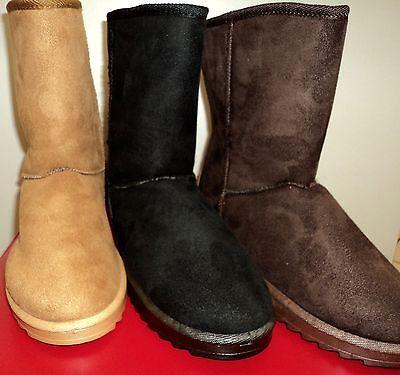 Damen Schlupf Winter Schuhe Gefüttert Stiefeletten Stiefel Ankle Boots Gr. 36-41 online kaufen