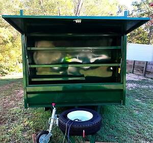 Custom lawn mowing & landscaping Tipper trailer Springwood Logan Area Preview