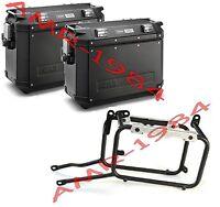 Set Suitcases Trekker Outback Black 37l Suzuki Dl650 L2l3 V Strom Obk37 - givi trekker outback - ebay.co.uk