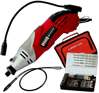 Hobby Rotary Drill Multi Tool Grinder Kit Set Accepts Dremel Accessories 240v