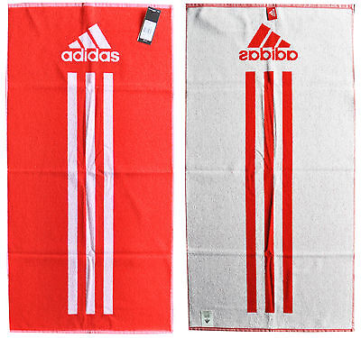adidas Towel Handtuch Badetuch Gr. S rot Fitness Sport 50 x 100 cm F51249