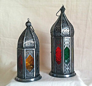 Moroccan tea light lantern
