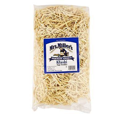 Kluski Noodles (Mrs. Miller's Homestyle Kluski Noodles 2.5 lb. Bag (2)