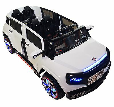 2017 2-Seater 4-Door 12v Battery Powered Electric Ride On Kids Toy Car Remote RC