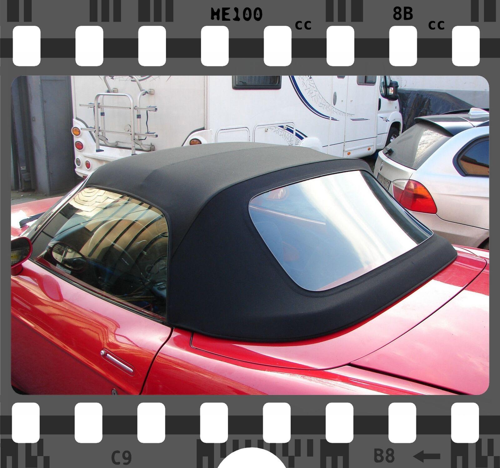 Fiat Barchetta Verdeck Reparaturflicken PVC schwarz A