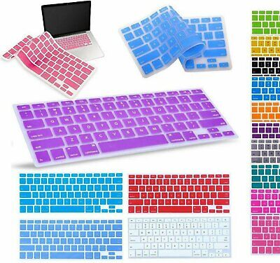 Silicone Keyboard  Cover For Apple Macbook Pro Air 13″ 15″ 17″ (2015 or older) Computers/Tablets & Networking