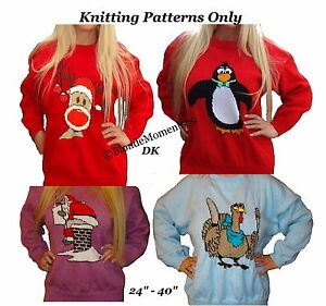 Knitting Pattern For Christmas Pudding Jumper : FREE NOVELTY CHRISTMAS JUMPER KNITTING PATTERNS - VERY SIMPLE FREE KNITTING P...