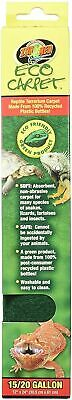 "Zoo Med Eco Carpet Terrarium Liner 15 & 20 Gallon - 12"" x 24"" - Reptile, Lizard"