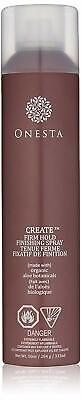 Onesta Hair Care Firm Hold Finishing Hair Spray, 10 oz, Humidity Resistant with  Hair Care Humidity
