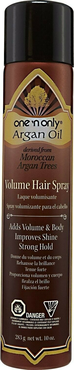 One N Only Argan Oil Volume Hair Spray Strong Hold Body And Shine 10 Oz - $39.99