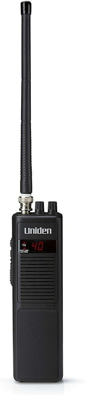 Uniden PRO401HH Professional Series 40 Channel Handheld CB R