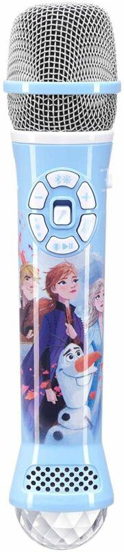 eKids Disney Frozen 2 Bluetooth Karaoke Microphone with LED Disco Party...