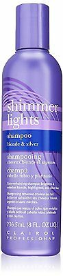 Clairol Shimmer Lights Shampoo Blonde & Silver 236mL Clairol Professional Shimmer Lights Shampoo