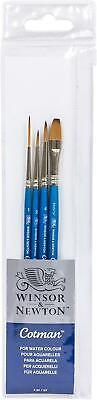 Winsor & Newton Cotman Short Handle Brush 4 Pack