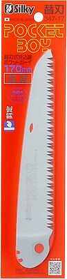 - SILKY POCKETBOY Extra Large Teeth Spare Blade 170mm 347-17 Replacement Japan Saw