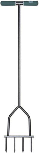 Yard Butler IM-7C Multi Spike Lawn Aerator, 37 inches, Black