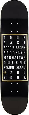 """Zoo York Skateboard Deck - True East - 8"""""""
